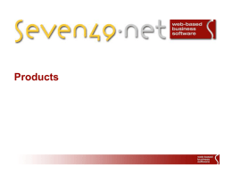 seven49_Products