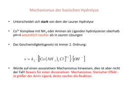 vorlesung allgemeine chemie komplexchemie kinetik ii. Black Bedroom Furniture Sets. Home Design Ideas