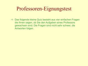 Professorentest