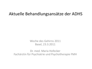 ADHS - Neuroscience Network Basel