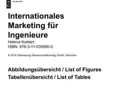 Internationales Marketing für Ingenieure