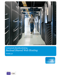 CSD NL Shared web hosting (3 0)