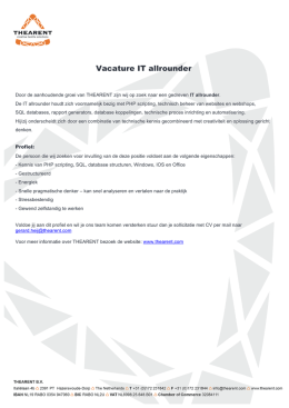 vacature-IT allrounder