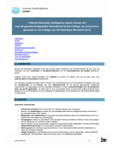 Business intelligence expert (V2)