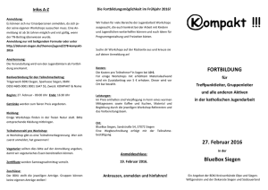 Flyer - BDKJ Kreisverband Siegen