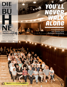 YOU`LL Never walk alone - Theater und Orchester Heidelberg