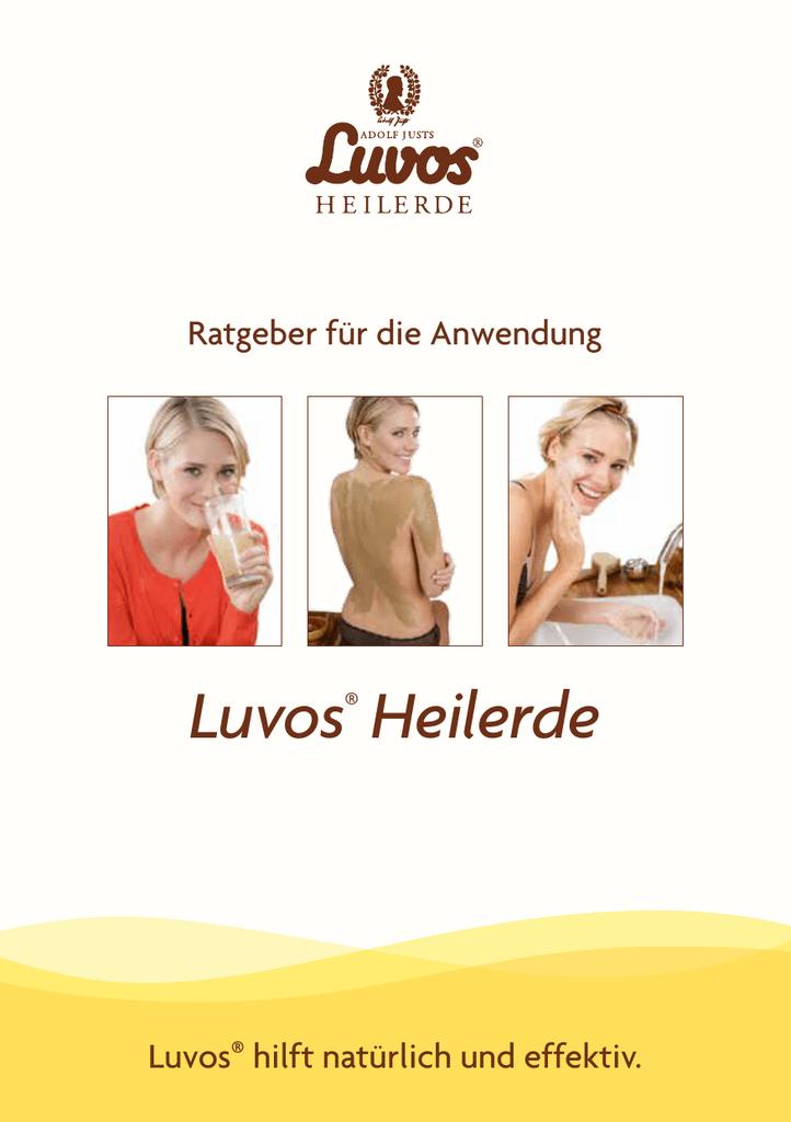 Luvos-Heilerde ultrafein/fein Herausragende Säurebindung