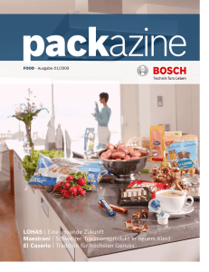 Food - Bosch Packaging Technology