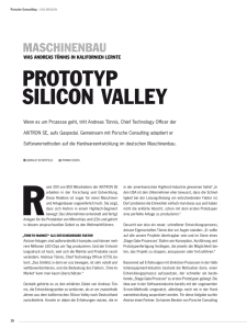 ProToTyP silicon Valley