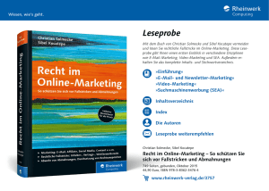 Christian Solmecke - Recht im Online-Marketing