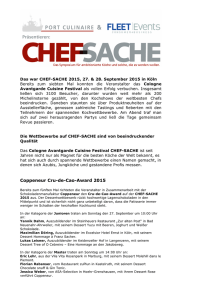 Coppeneur Cru-de-Cao-Award 2015 - Chef
