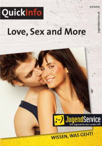Love, Sex and More QuickInfo