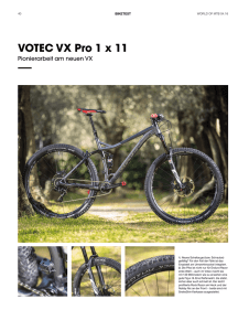 Testbericht VOTEC VX PRO World Of MTB PDF File
