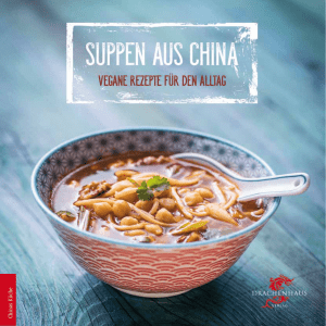 Leseprobe Suppen aus China