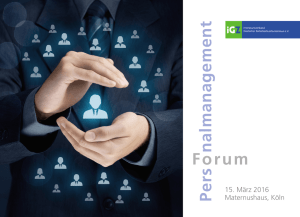 iGZ-Forum Personalmanagement