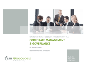 Corporate Management & Governance