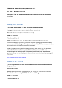 v Workshop Programm YTE