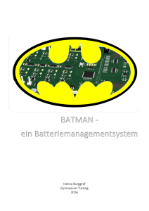 Ausarbeitung BATMAN-Batteriemanagement