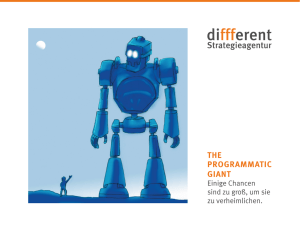 THE PROGRAMMATIC GIANT