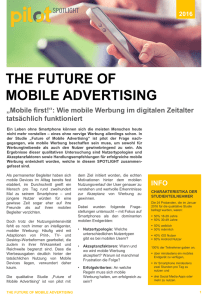 the future of mobile advertising