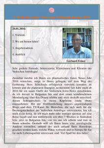 I. Vedische-Astro-News am Vollmond Januar 2016