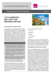 Diabetes: Therapie des Typ-2-Diabetes
