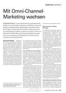 Mit Omni-Channel-Marketing wachsen