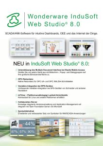 Wonderware InduSoft Web Studio® 8.0
