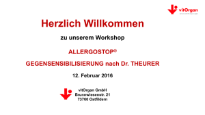 Workshop Allergostop