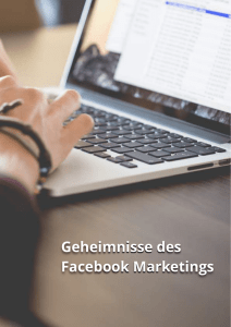 Geheimnisse des Facebook Marketings