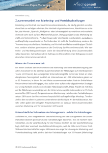 Line of Business Paper Marketing Zusammenarbeit
