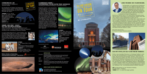 ON TOUR - Planetarium Hamburg