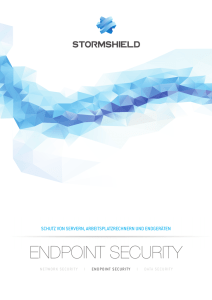 Stormshield Endpoint Security - Airbus Defence and Space