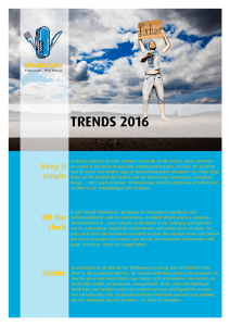 trends 2016 - Special Cuts