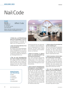 Nail:Code - Beauty Forum