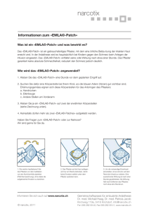 Informationen zum EMLA © -Patch