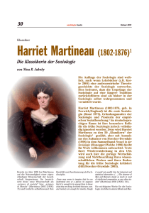 Harriet Martineau (1802-1876)1