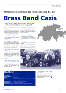 Tour de Brass - Brass Band Cazis