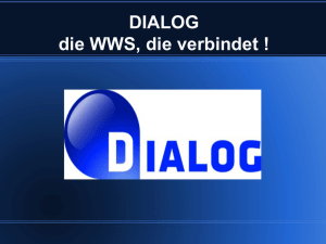 DIALOG - MARKUS SOFTware GmbH