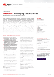 InterScan™ Messaging Security Suite