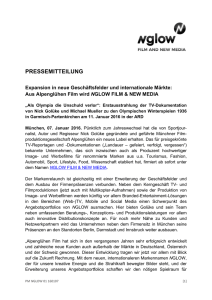 pressemitteilung - bei Nglow / Film and New Media