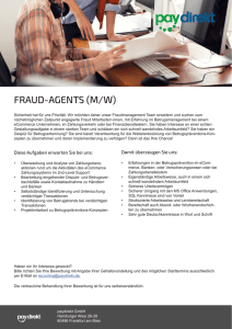 fraud-agents (m/w)