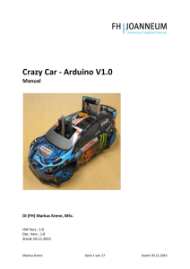 Crazy Car - Arduino V1.0