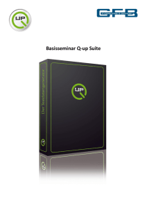 Basisseminar Q-up Suite