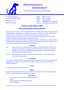 Inclusion Body Disease (IBD)
