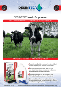 Zum Flyer DESINTEC InsektEx pour-on