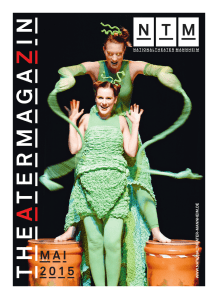 MAI 2015 - Nationaltheater Mannheim