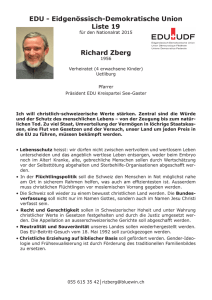 Richard Zberg EDU - Eidgenössisch