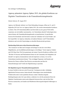 Appway Sphere Press Release (final)_DE