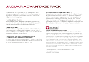 JAGUAR ADVANTAGE PACK